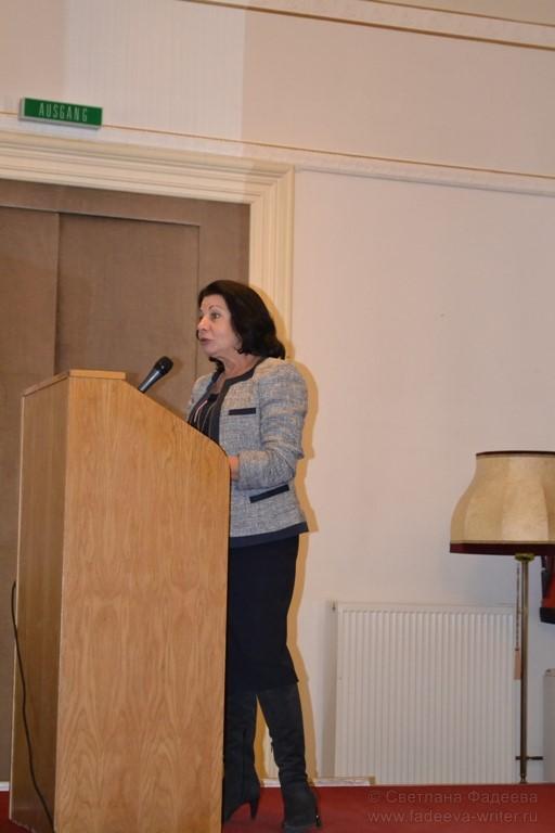 Руководитель представительства Россотрудничества Татьяна Мишуковская