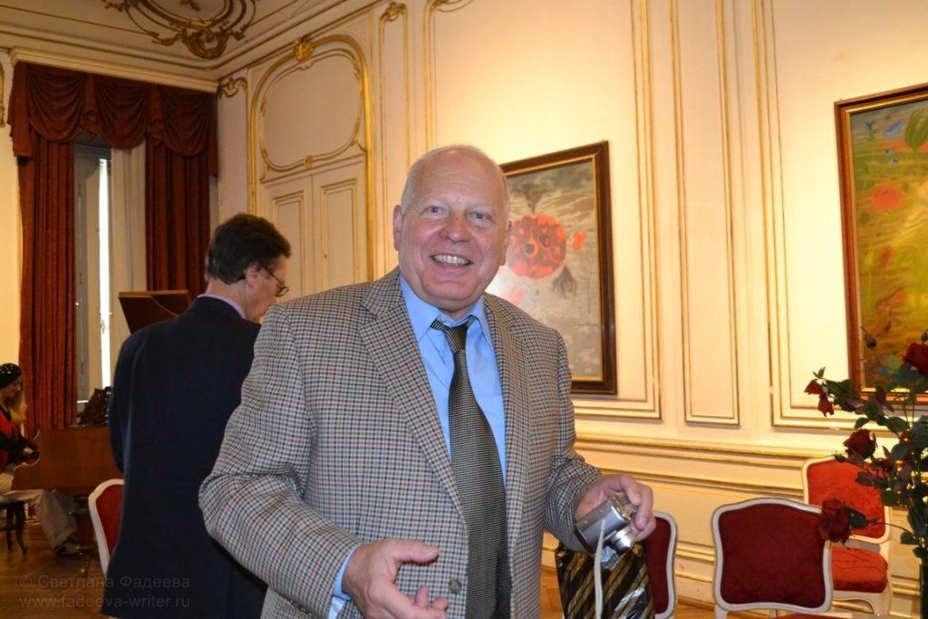 Сергей Левицкий, Президент Союза русскоязычных писателей в Чешской Республике