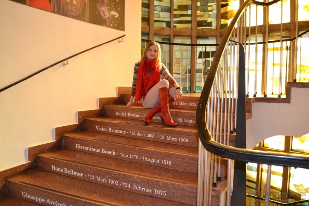 Уникальная лестница во дворце