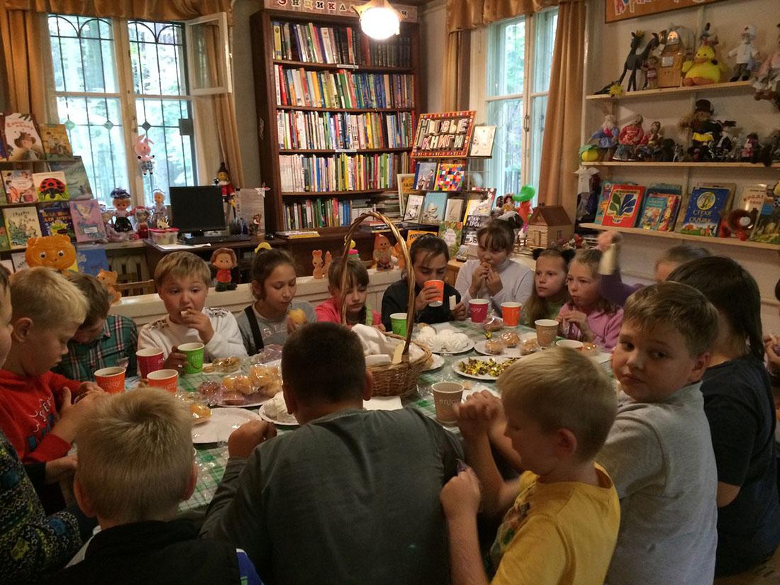 День города Москвы в библиотеке К. И. Чуковского. ЦБС Новомосковская