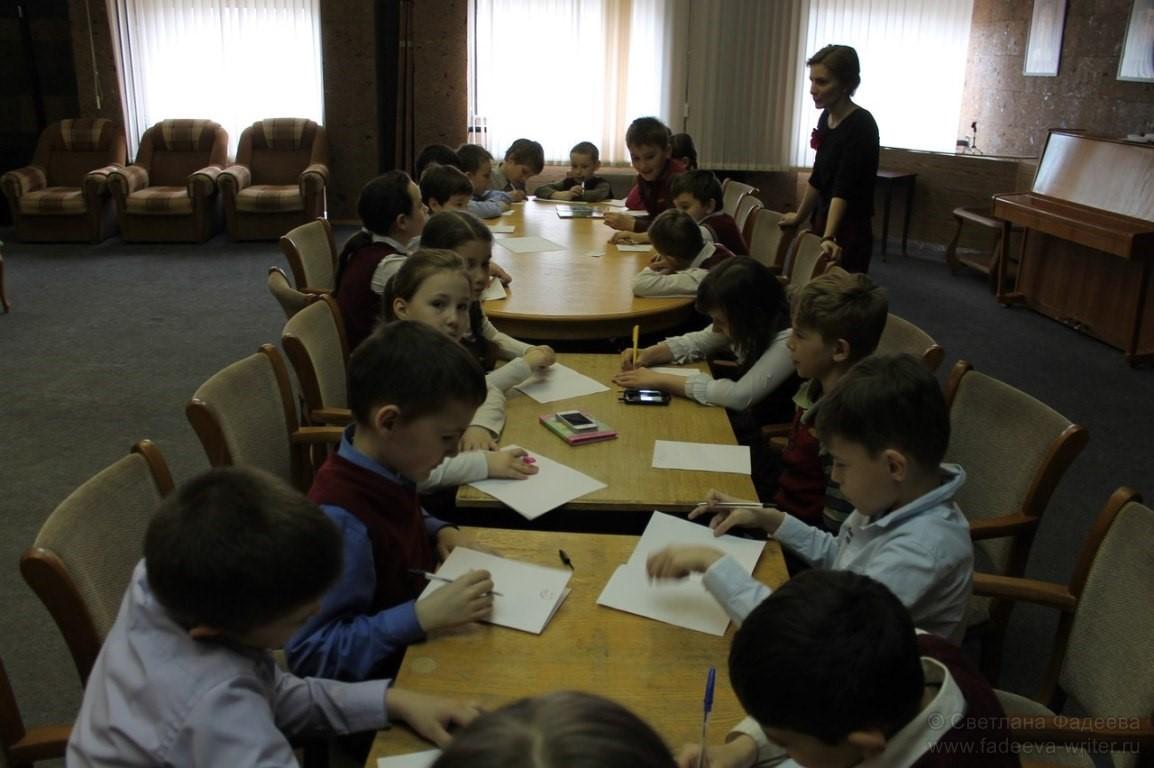 Проект «Сам себе сказочник». Встреча с писателем Светланой Фадеевой