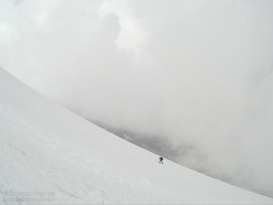 Эльбрус. Акклиматизация. Попытка подъёма на западную вершину. Фотоотчёт