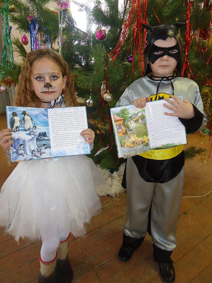 Книги в подарок детям Староузелинской сельской библиотеки