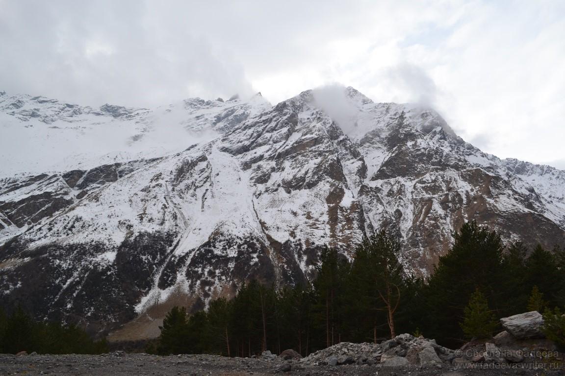 Поляна Азау. Высота 2350 м