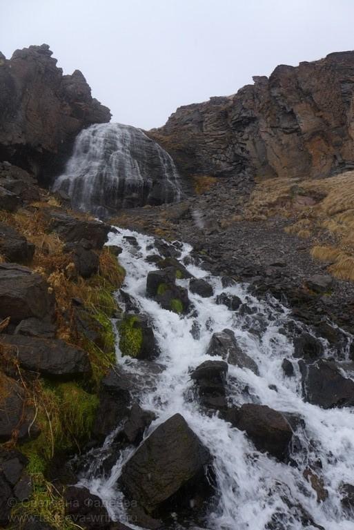 Вот и он — долгожданный водопад
