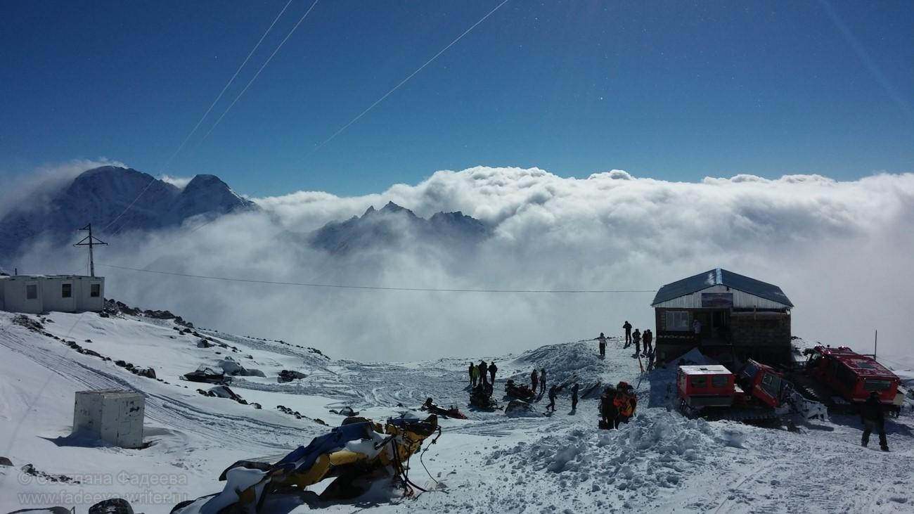 Станция «Гара-Баши» (3850 м)
