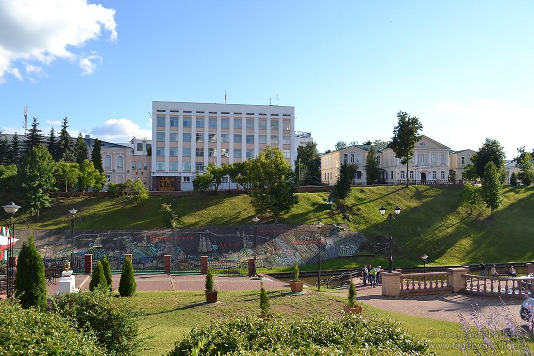 Тёплый уикенд в Витебске