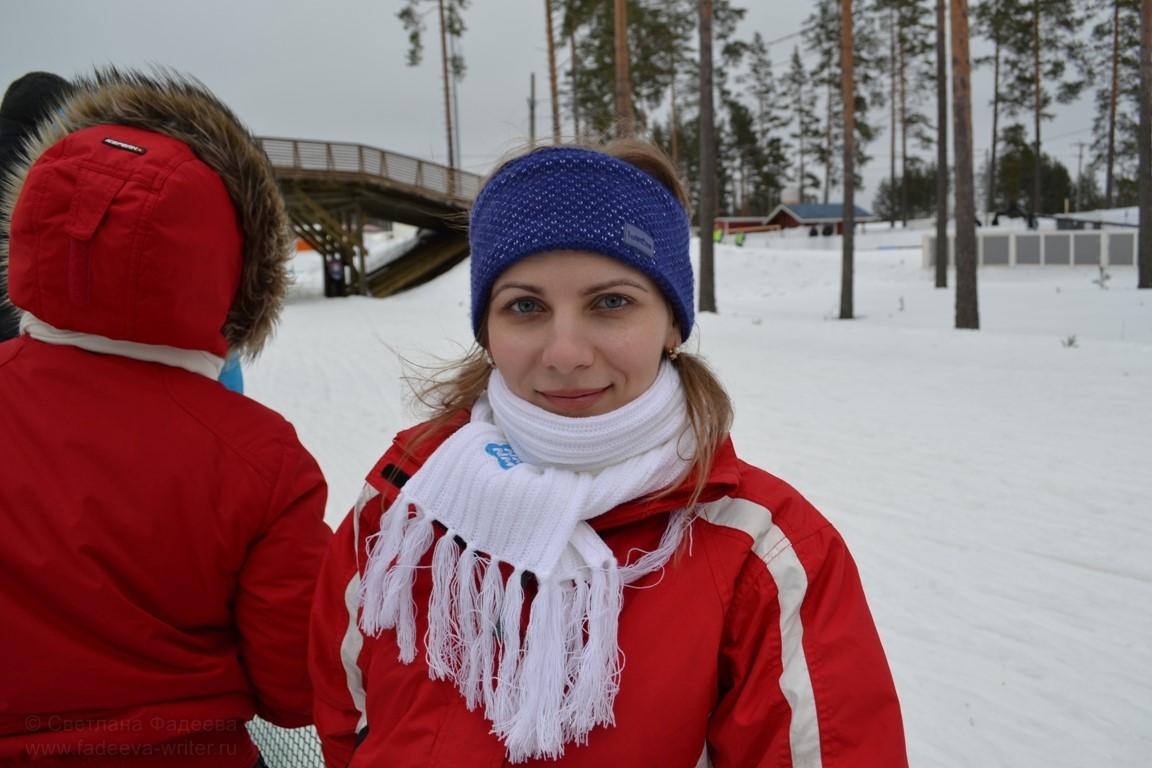 Похолодало, ударил мороз, а девочкам только выходить на старт.