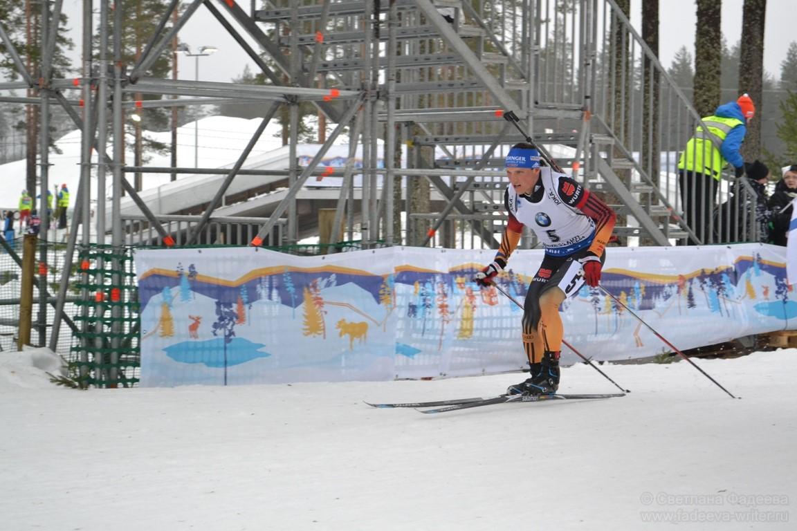 Чемпионат Мира по биатлону 2015. Мужская гонка преследования. Эрик Лессер, Германия