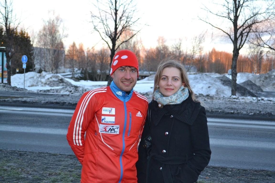 С Евгением Гараничевым