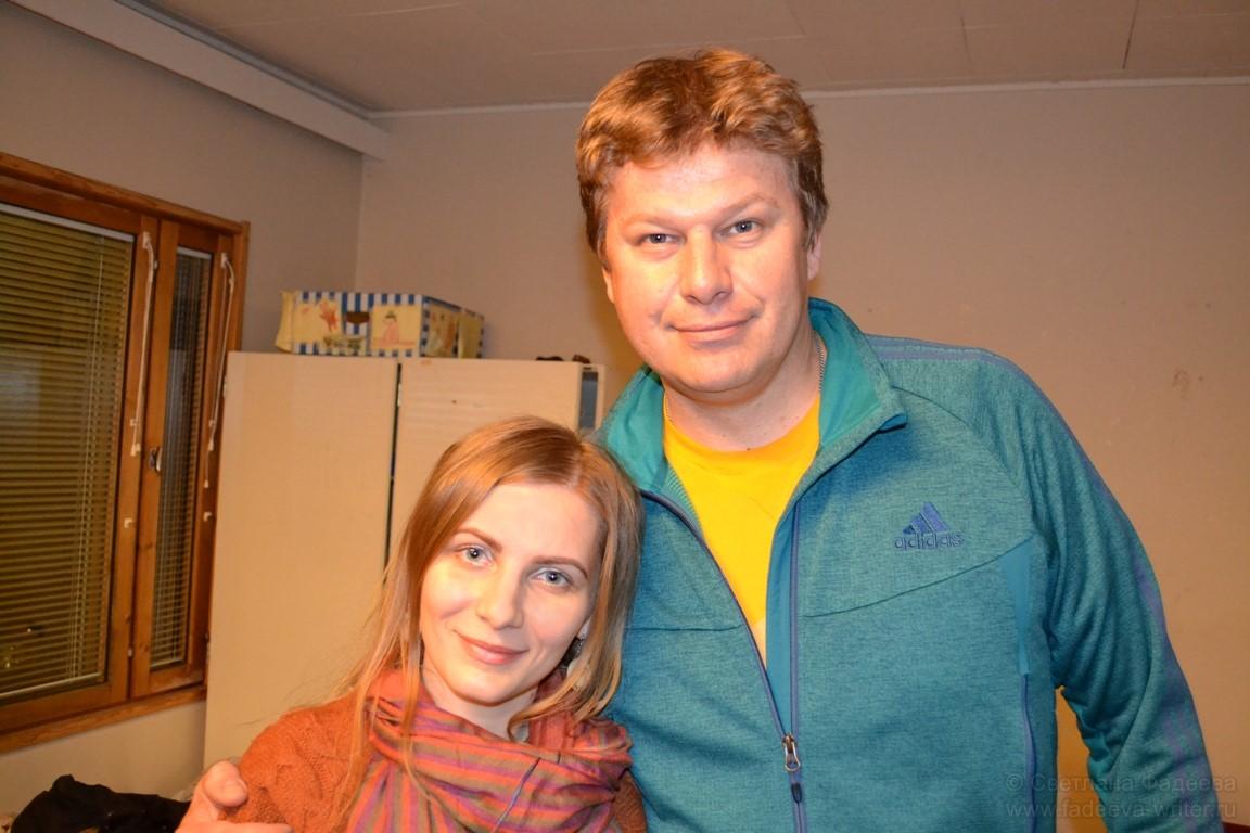 С Дмитрием Губерниевым