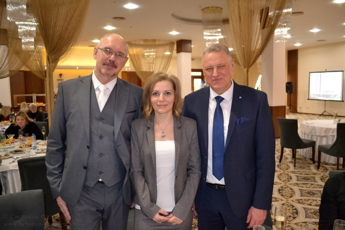 С директором издательства «Беларусь» и директором Института Академии Наук